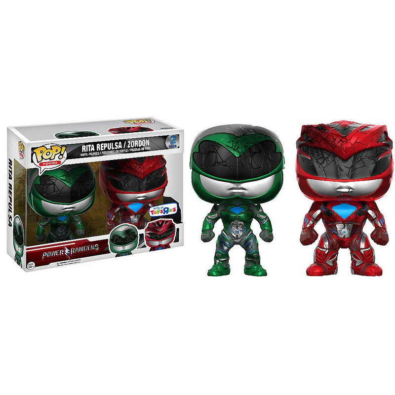 Power Rangers Rita Repulsa and Zordon Toys R Us Exclusive POP! Vinyl Figures
