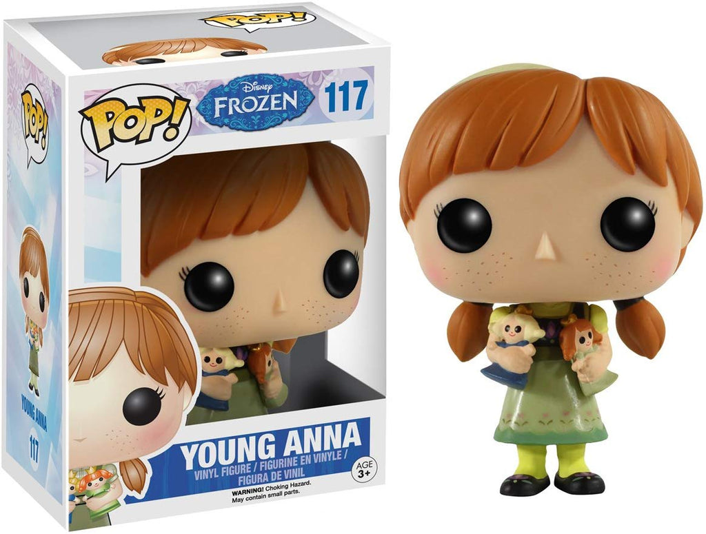 Funko POP Disney: Frozen - Young Anna Action Figure