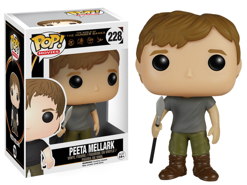 Funko POP Movies: The Hunger Games - Peeta Mellark Action Figure