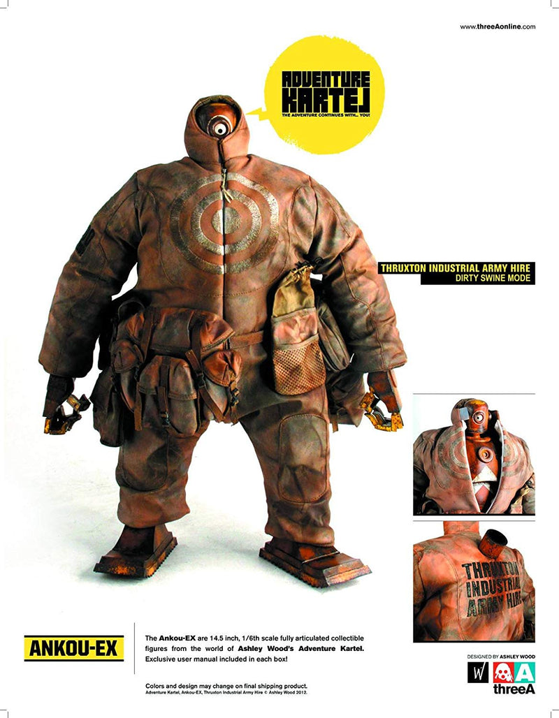 Adventure Kartel Ankouex 1/6 Scale Figure Tiah Dirty Swine Version