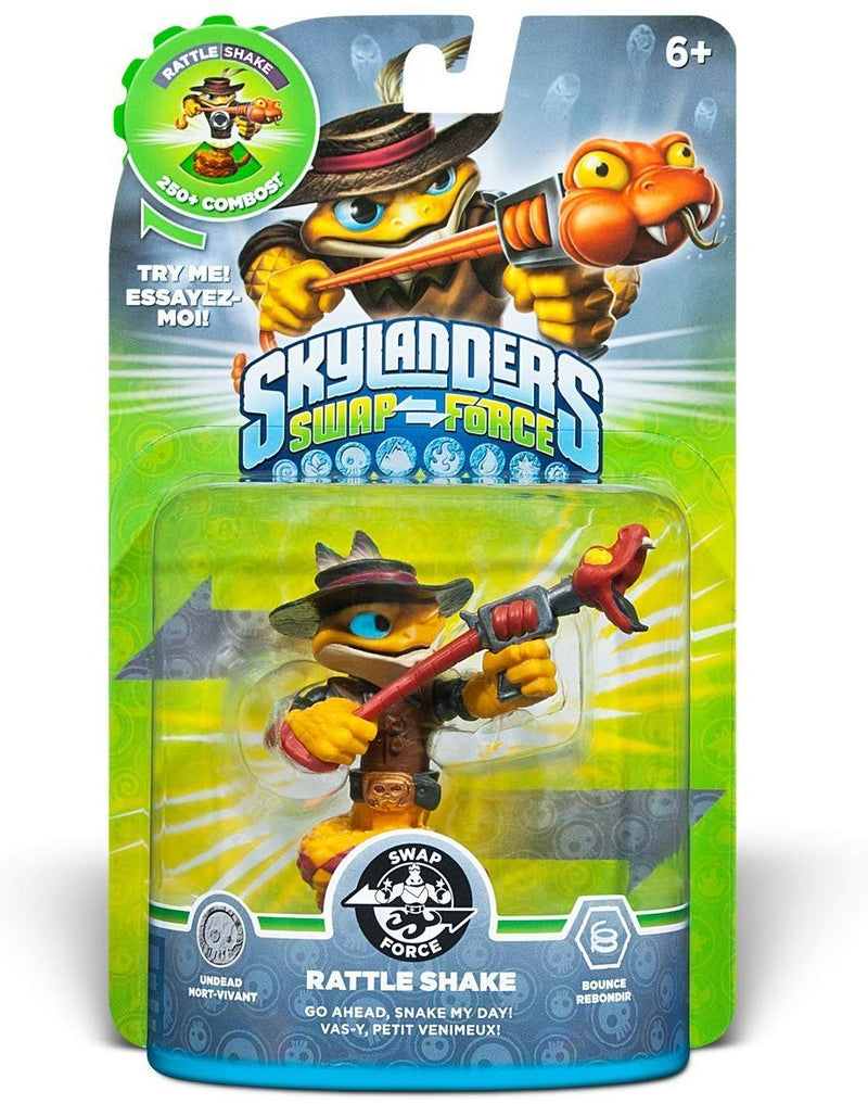 Skylanders SWAP Force: Rattle Shake Character (SWAP-able)