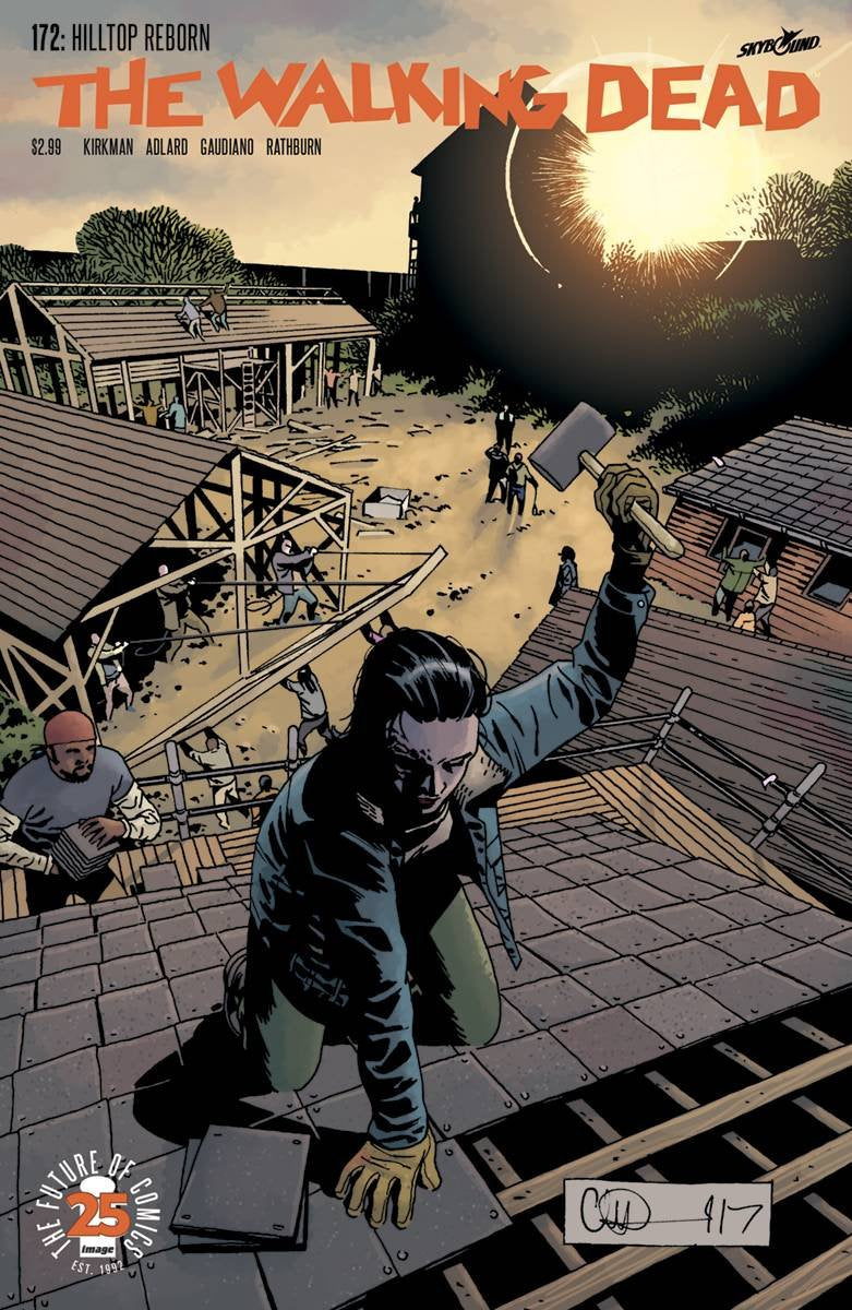 Walking Dead #172 Comic Book