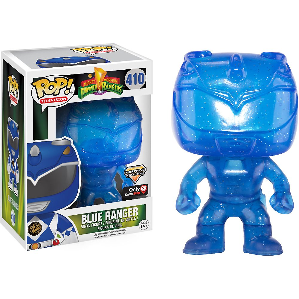 Power Rangers Blue Morphing Ranger Pop! Vinyl Figure #410