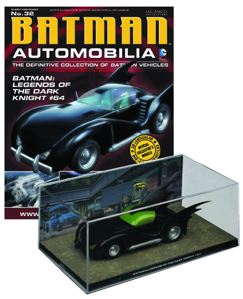 DC Batman Automobilia Figure & Magazine #32 Legends of the Dark Knight