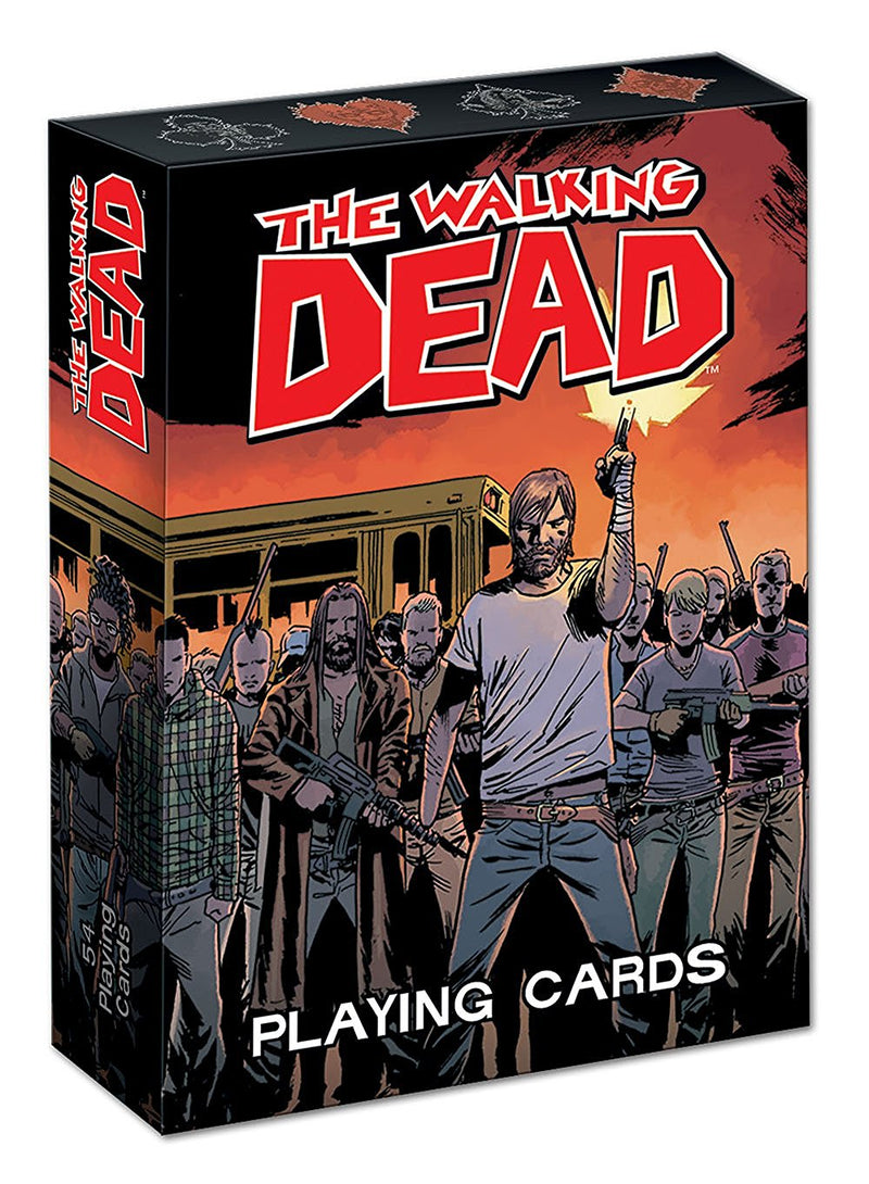 The Walking Dead Playing Cards - Toy Wars - USAopoly