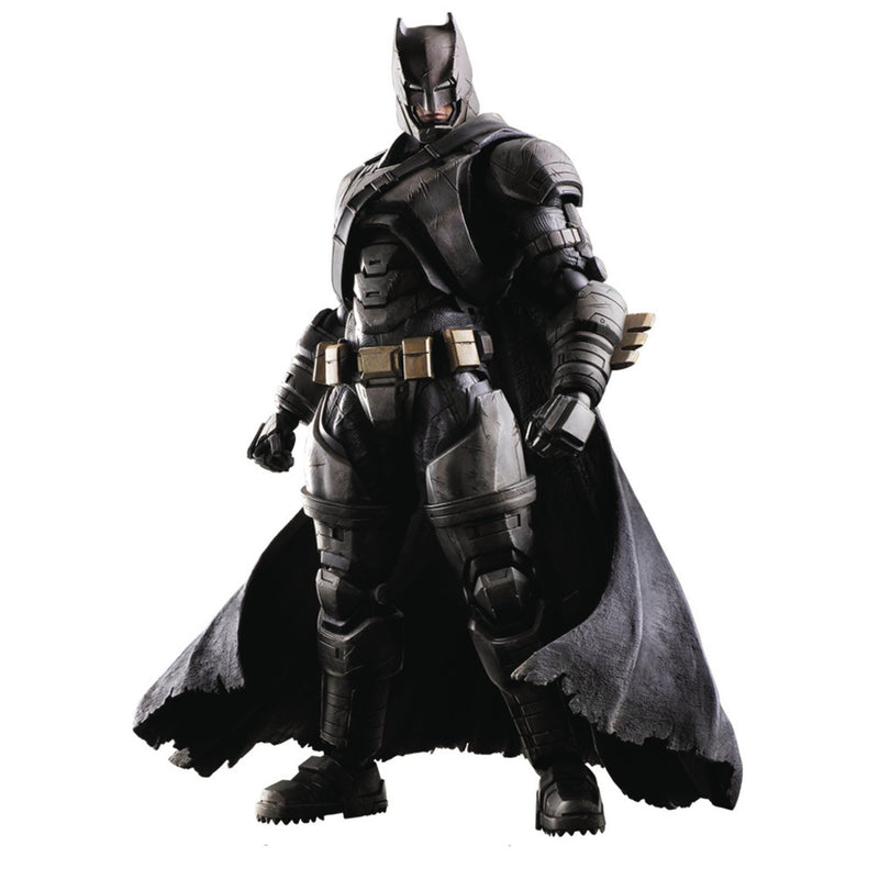 Square Enix Batman v Superman: Dawn of Justice: Play Arts Kai Armored Batman Action Figure - Toy Wars - Square Enix