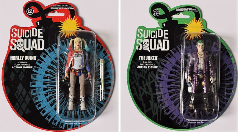 Suicide Squad Harley Quinn & Joker Legion of Collectors Exclusive Action Figure