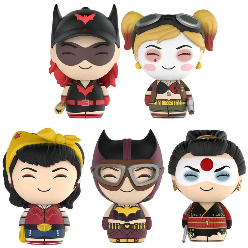 DC Bomshells Dorbz Bundle of 5