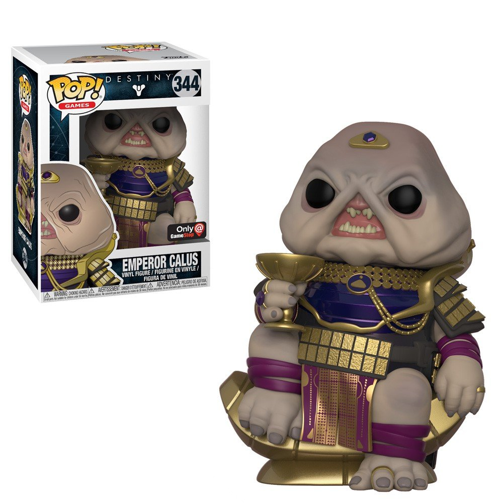 Destiny Emperor Calus GameStop Exclusive POP! Vinyl Figure #341