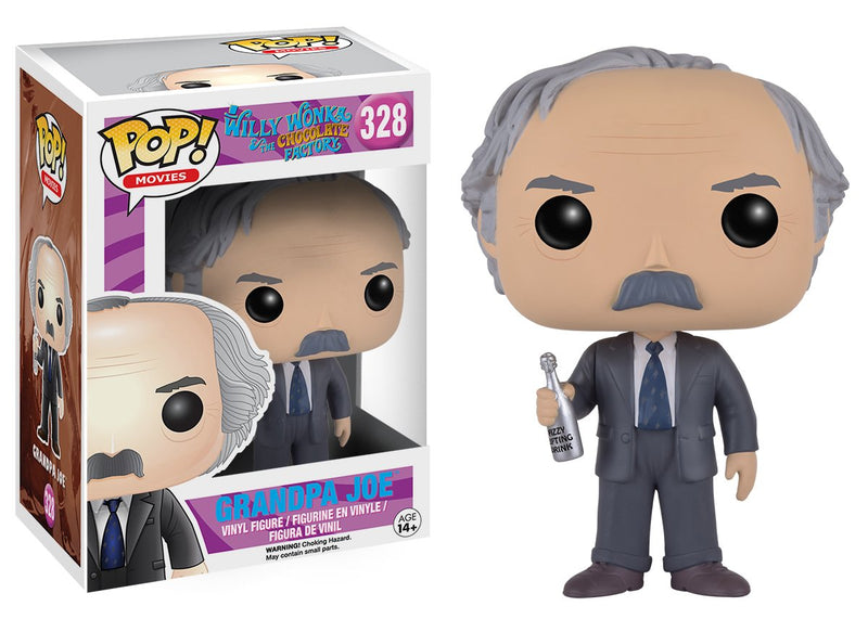 Funko POP Movies: Willy Wonka Grandpa Joe Action Figure