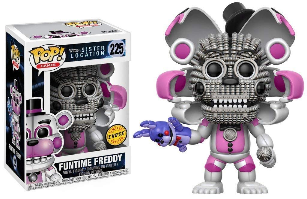Five Nights at Freddy's Sister Location Funtime Freddy Chase Pop! Vinyl Figure #225