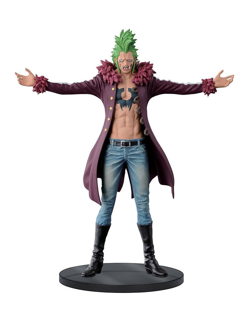 "One Piece 7.5"" Bartolomeo B Figure, Jeans Freak Series Volume 11"