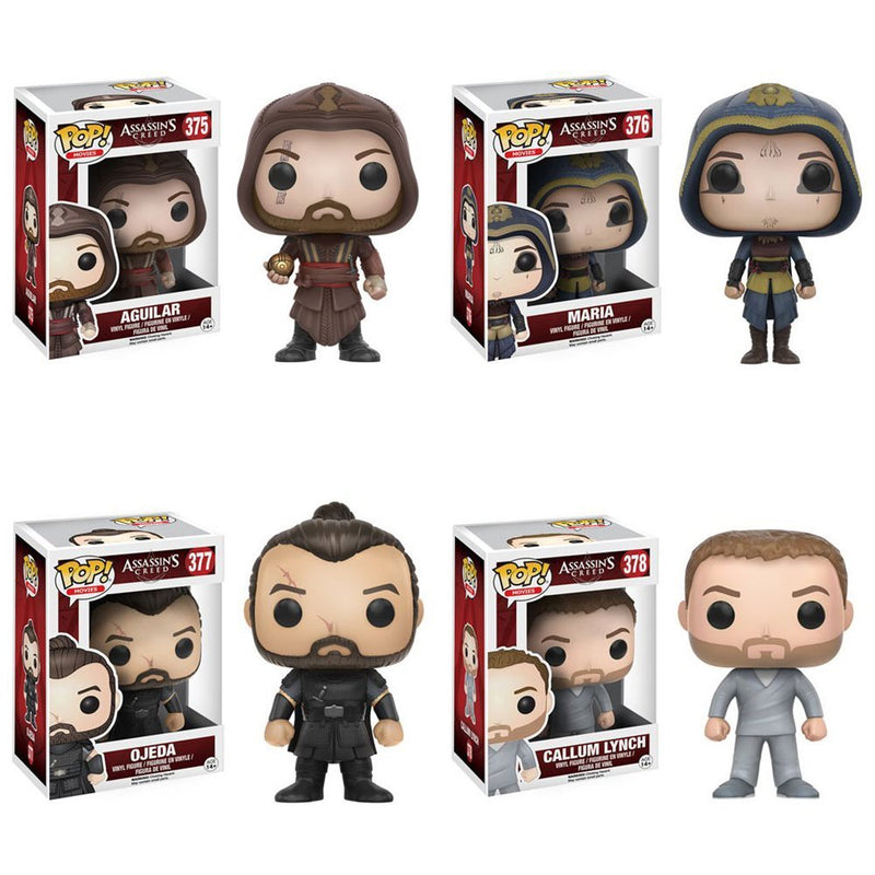 Assassin's Creed Movie Pop! Vinyl Figure Set of 4 - Toy Wars - Funko