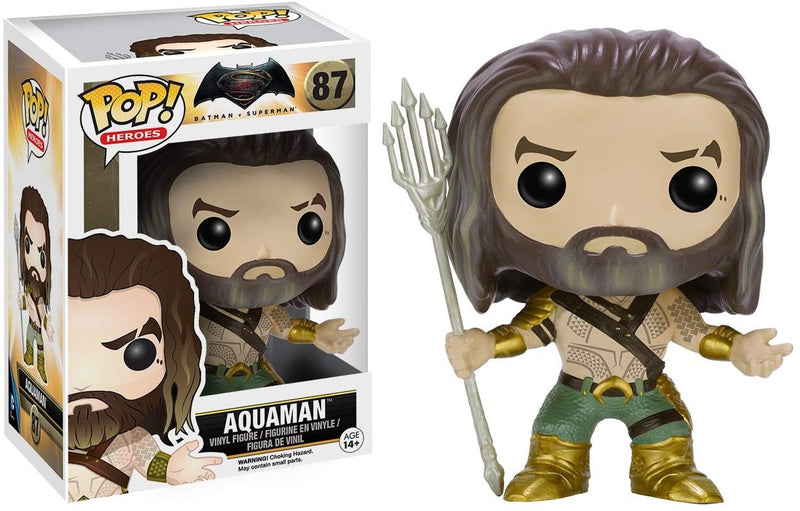 Funko POP Heroes: Batman vs Superman - Aquaman Action Figure