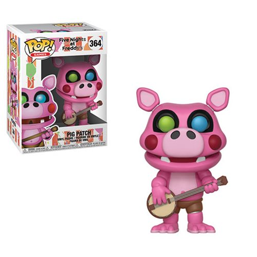 Preorder  Five Nights at Freddy's: Pizza Simulator Pigpatch Pop! Vinyl Figure #364