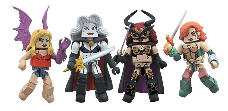 Diamond Select Toys Femme Fatales Minimates: Series 1 Box Set