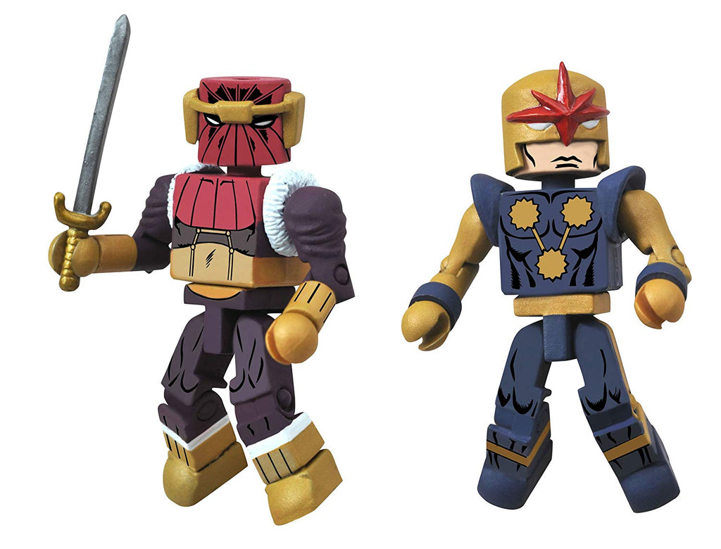 Marvel Minimates Fan Choice Baron Zemo II and Nova Corps Centurion Action Figure