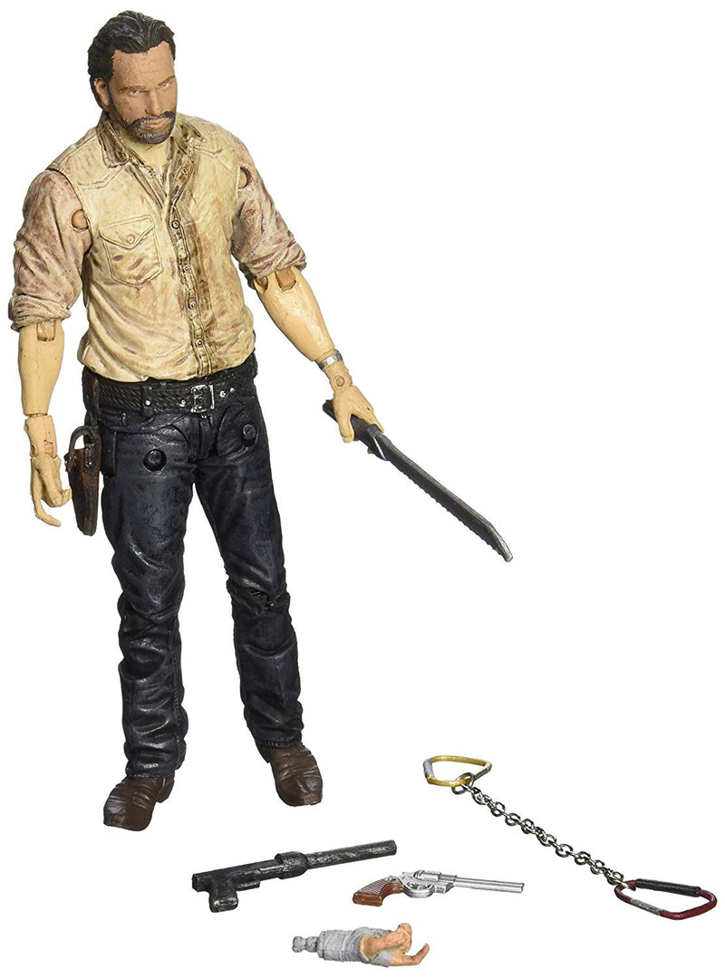 McFarlane Toys The Walking Dead TV Series 6 Rick Grimes Figure