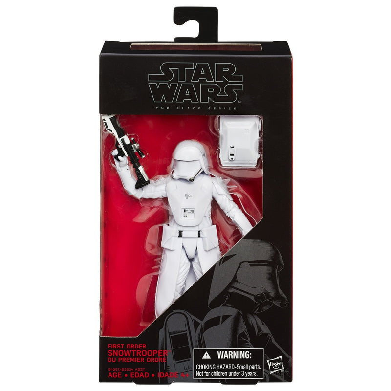 Star Wars The Black Series First Order Snowtrooper 6-Inch Action Figure