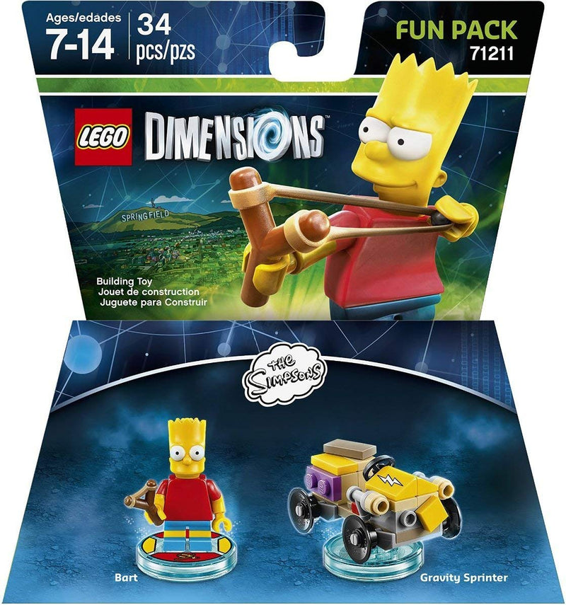 LEGO Dimensions Bart Simpson Fun Pack