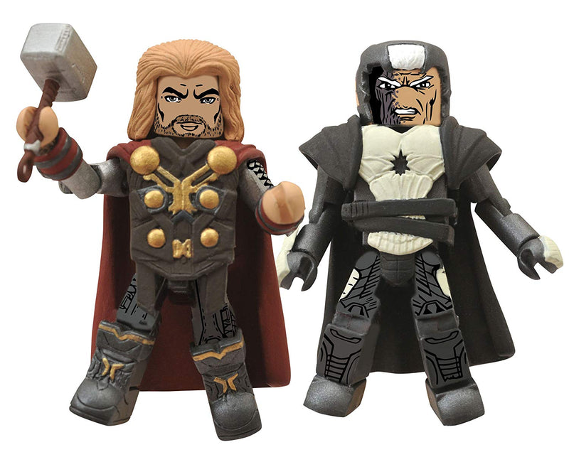 Thor 2 Dark World Thor and Malekith Minimate Action Figures