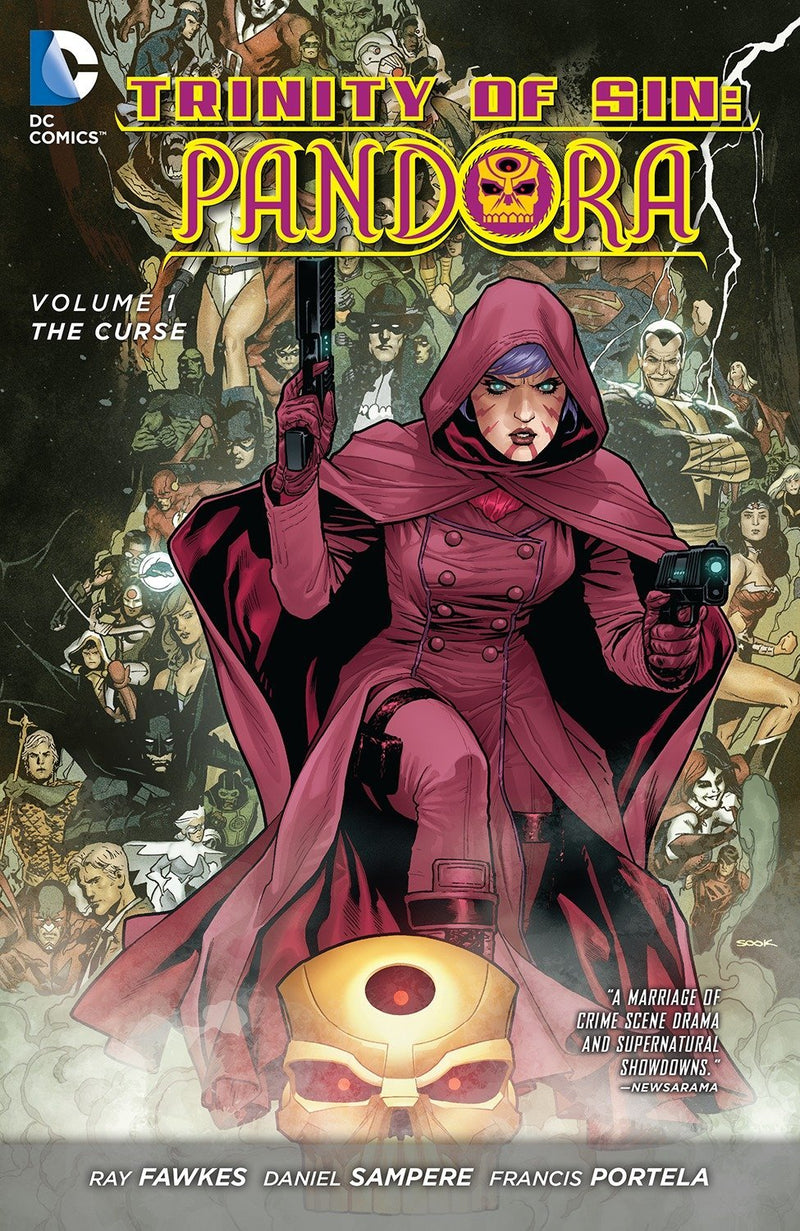 Trinity of Sin - Pandora Vol. 1: The Curse (The New 52)