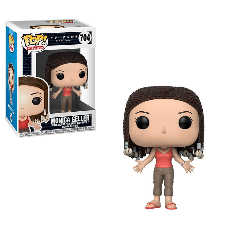 Friends Series 2 Monica with Braids Pop! Vinyl Figure #704