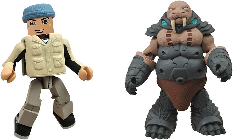 Battle Beasts Minimates Gruntos and Tate Reynolds Two Pack Figures