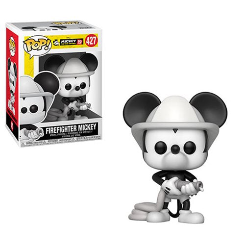 Preorder Mickey's 90th Firefighter Mickey Pop! Vinyl Figure #427