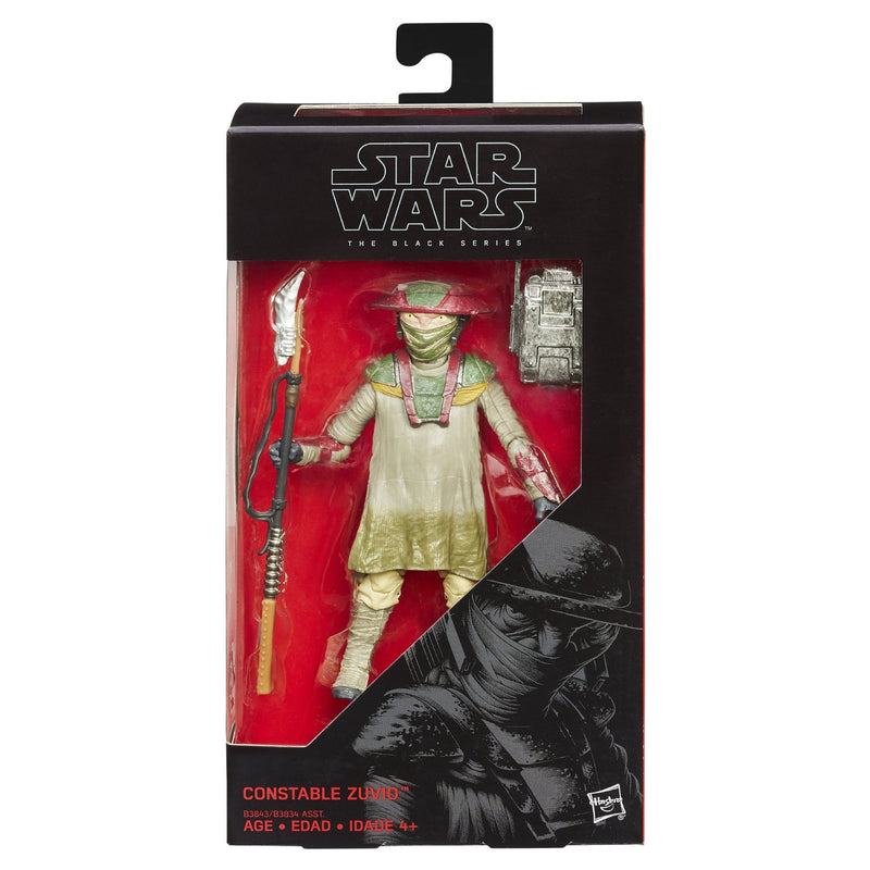 Star Wars The Force Awakens Black Series Constable Zuvio 6-Inch Action Figure