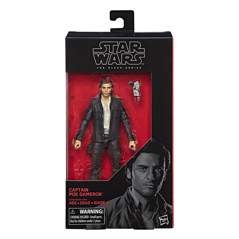 "Star Wars The Last Jedi Episode 8 Black Series 6"" Captain Poe Dameron Action Figure"