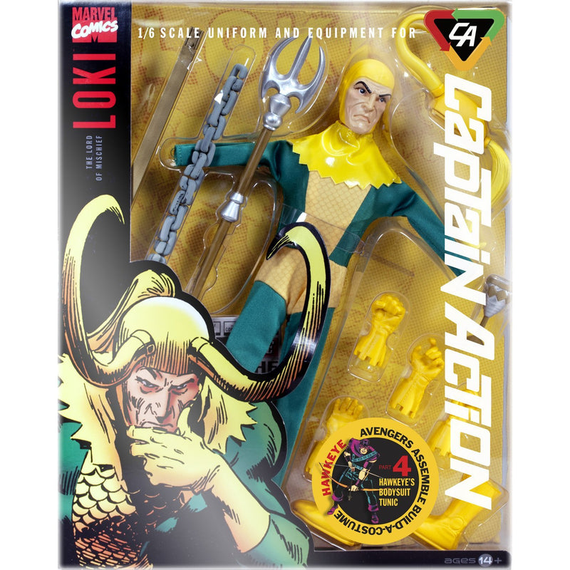 Captain Action Loki Deluxe Costume Action Figure Set