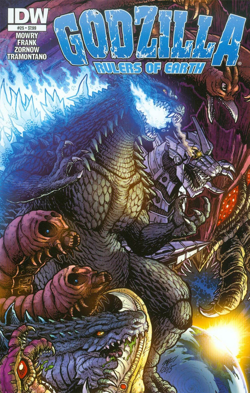 Godzilla Rulers of Earth #25 Comic Book