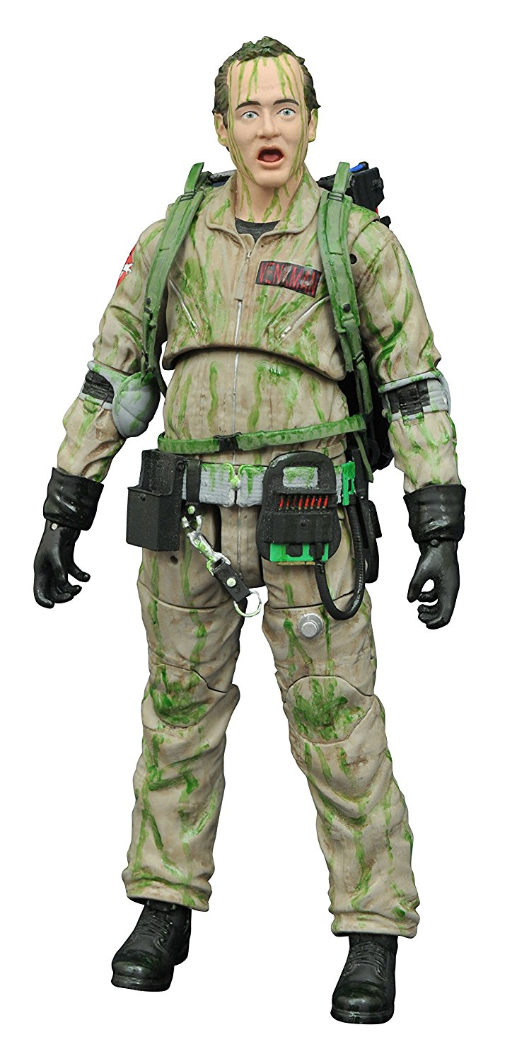 Diamond Select Toys Ghostbusters Slimed Peter Venkman Action Figure - Toy Wars - Diamond Select Toys