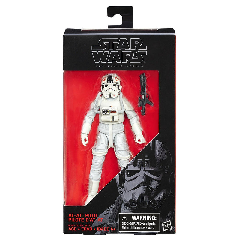 "Star Wars 6"" The Black Series AT-AT Pilot Action Figure"