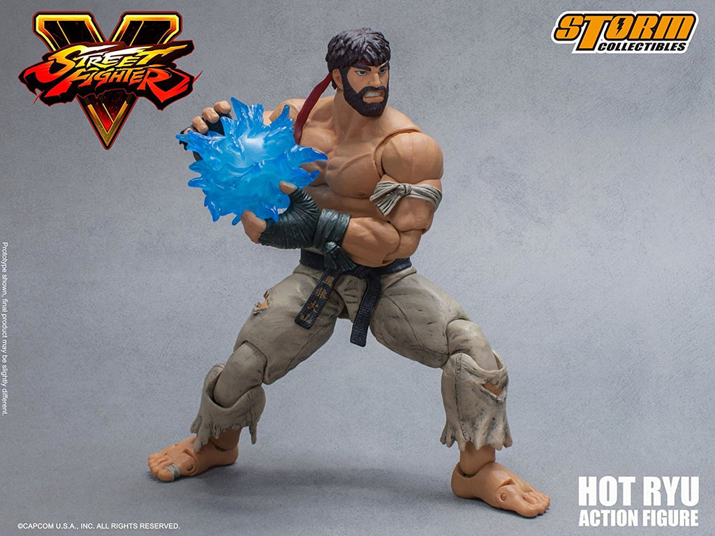 Storm Collectibles Street Fighter V: Hot Ryu 1:12 Scale Action Figure