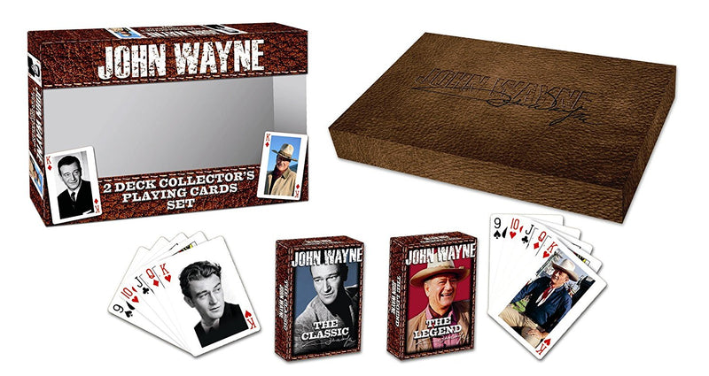 John Wayne Twin Pack Playing Cards