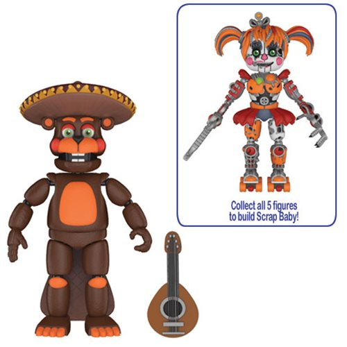 Preorder September 2018 Five Nights at Freddy's: Pizza Simulator El Chip 5-Inch Action Figure