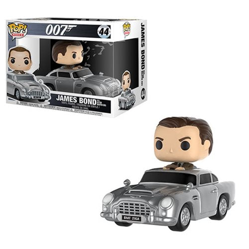 James Bond with Aston Martin Pop! Vinyl Vehicle #44