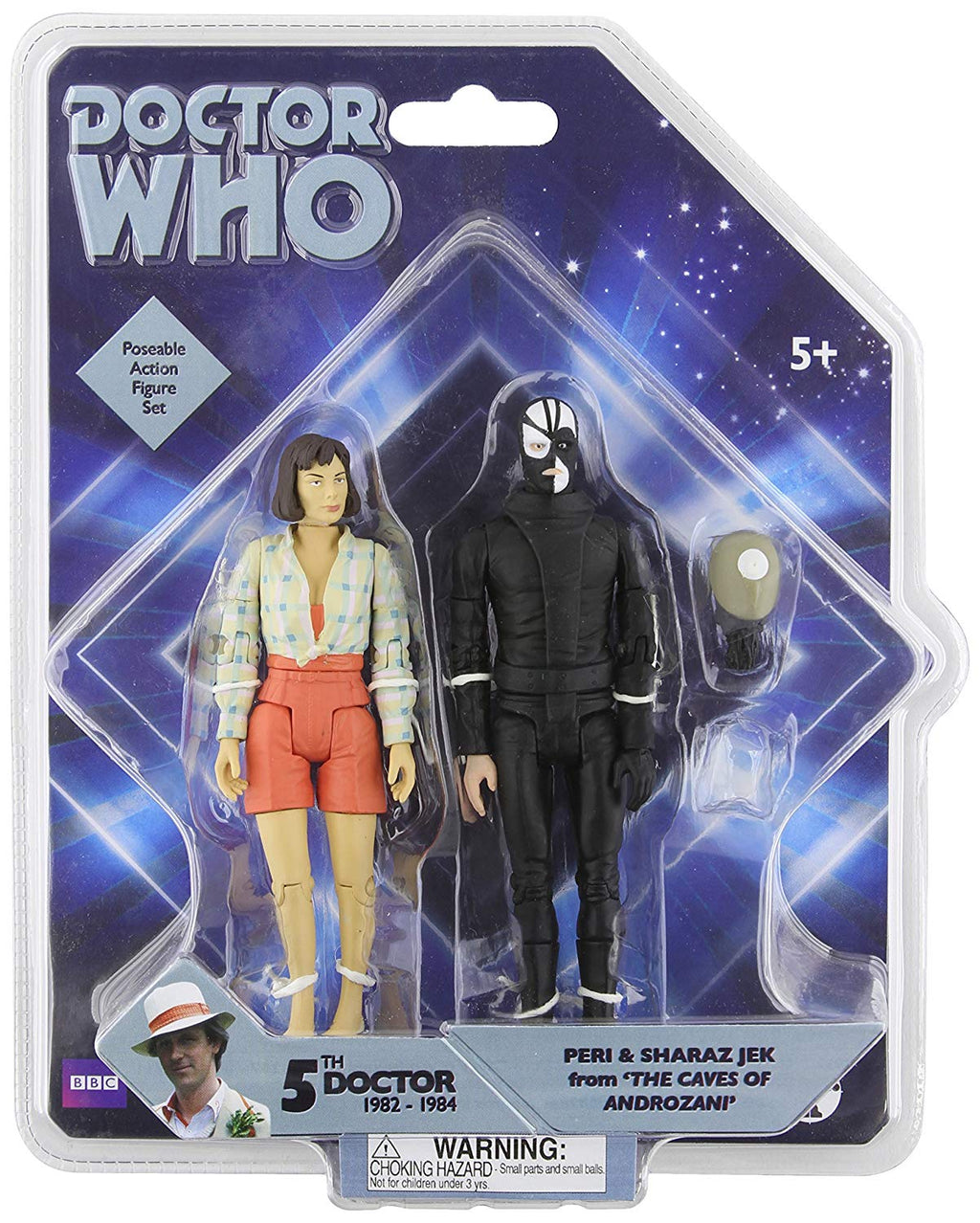 Doctor Who Peri and Sharaz Jek Two Figure Set