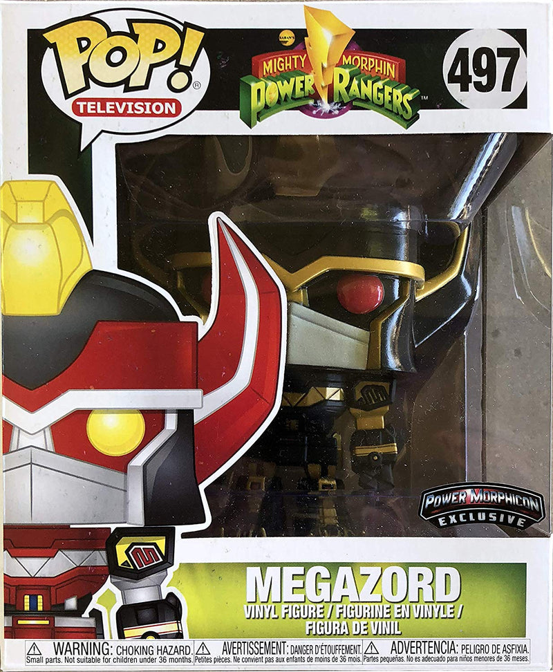 Power Rangers Black and Gold Megazord Power Morphicon Exclusive POP! Vinyl Figure 6 Inch