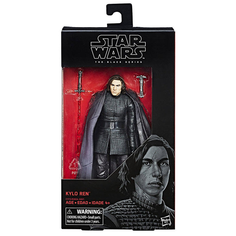 "Star Wars The Last Jedi Episode 8 Black Series 6"" Kylo Ren Action Figure"