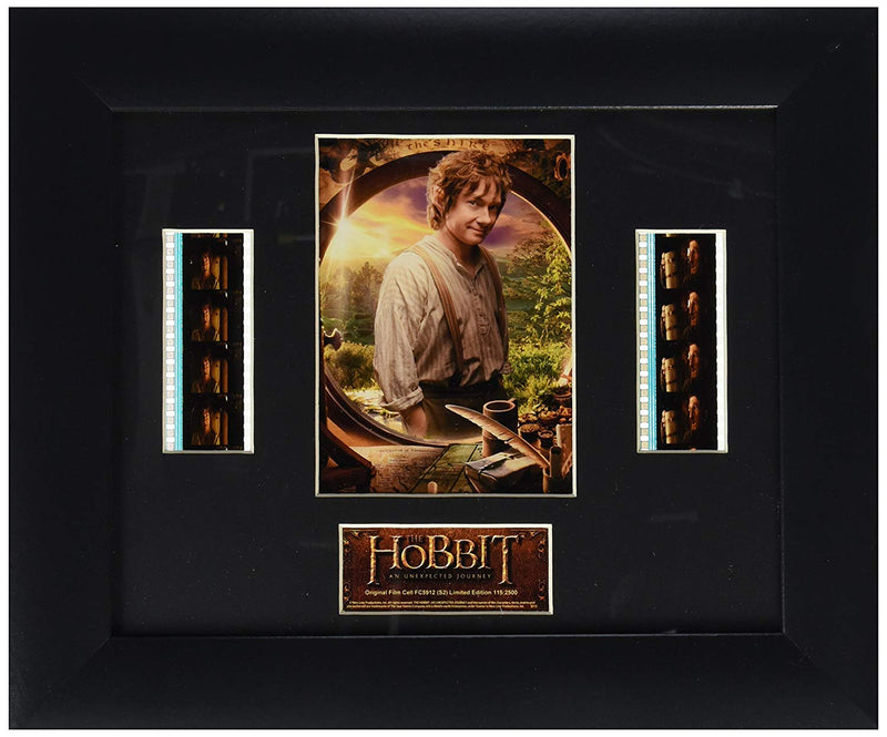 The Hobbit An Unexpected Journey Bilbo Baggains Double Cell Film Cell