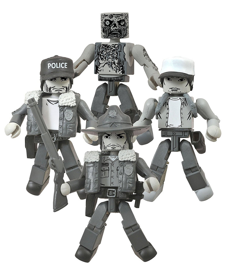 SDCC 2014 Exclusive Walking Dead Days Gone Bye Minimates Box Set