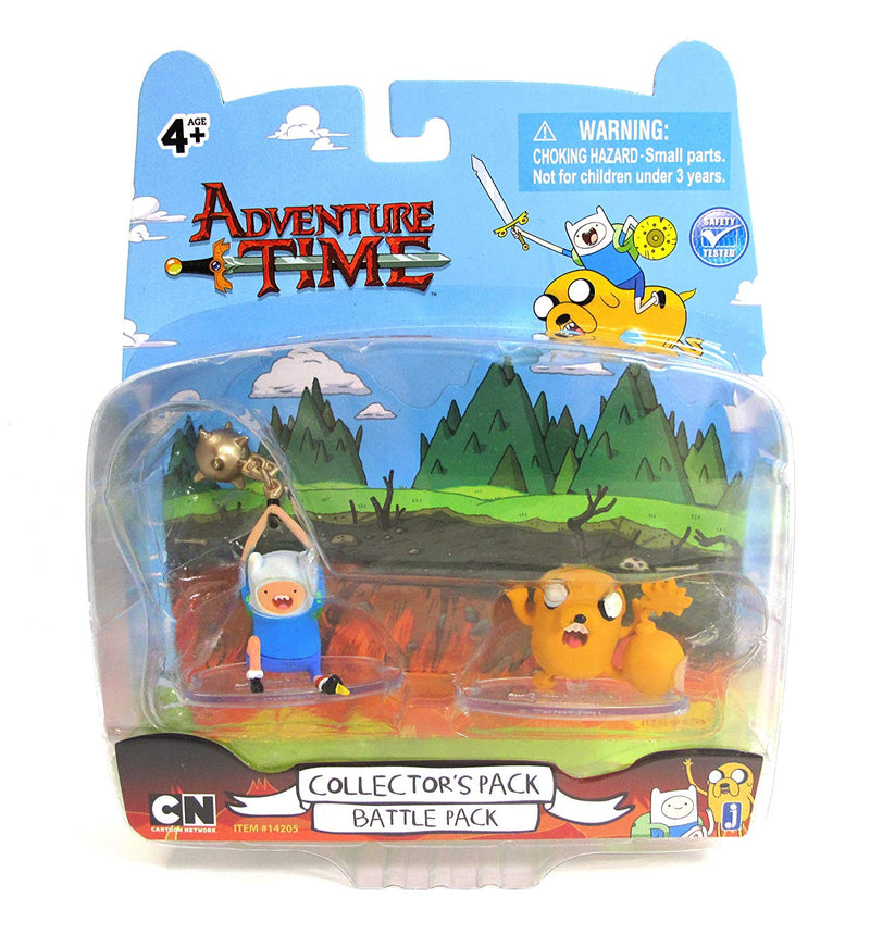 "Adventure Time 2"" Battle Pack Finn and Jake Figures"