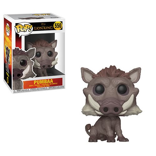 Lion King Live Action Pumbaa Pop! Vinyl Figure #550