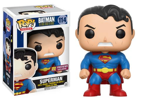 DC Heroes Dark Knight Returns Superman POP! Vinyl Figure
