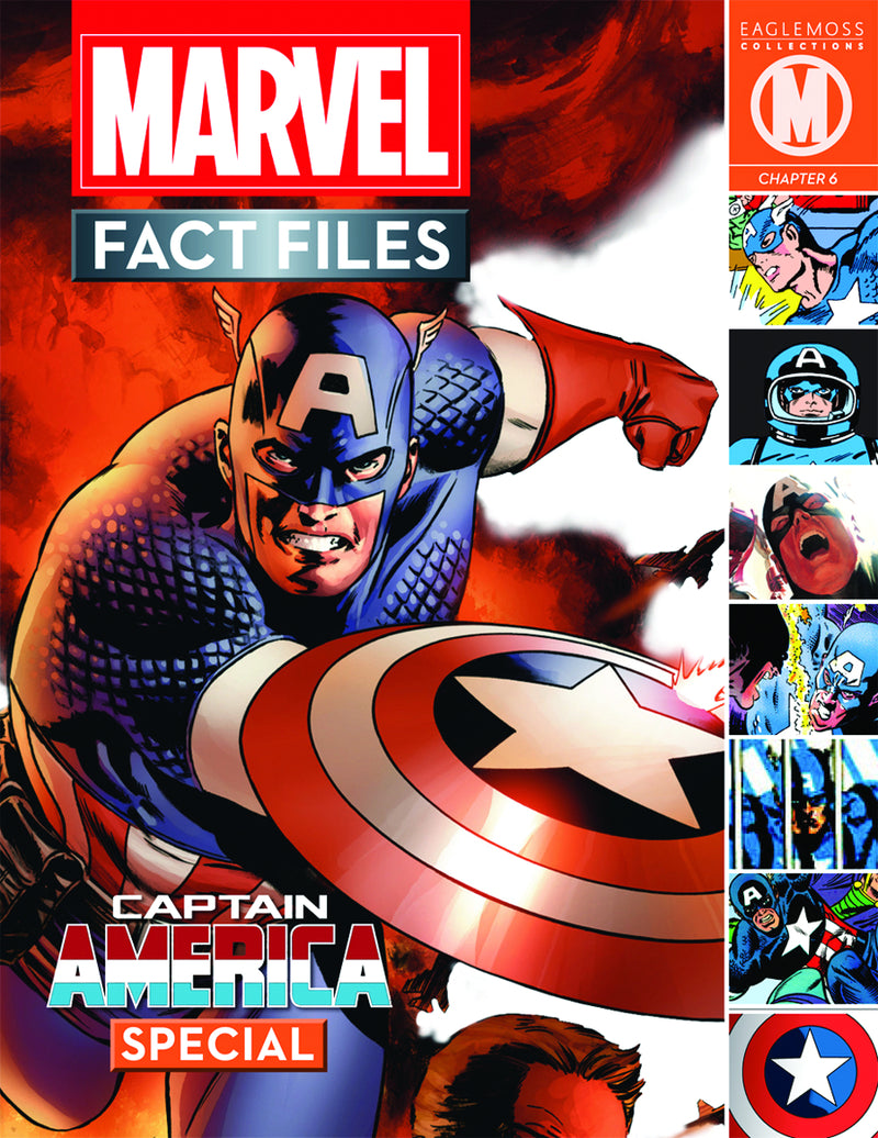 Marvel Fact Files Special #3 & Captain America Figure