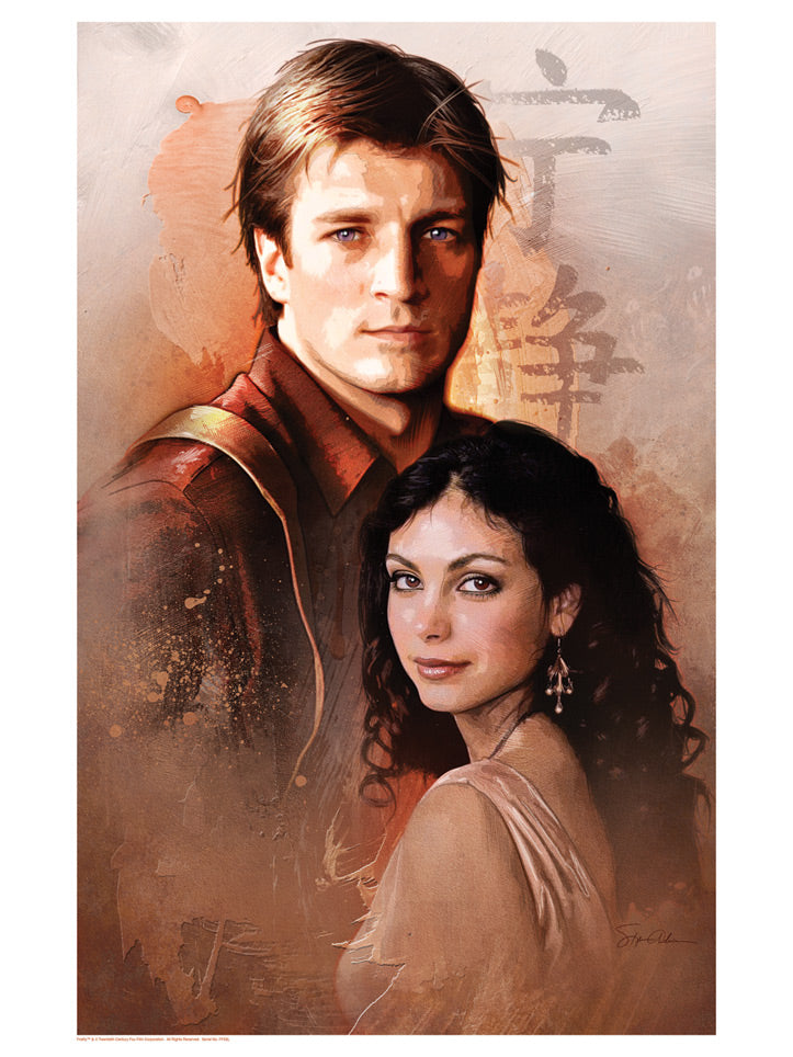 "Firefly Mal and Inara ""Truth of Resistance"" Lithograph by Steve Anderson"