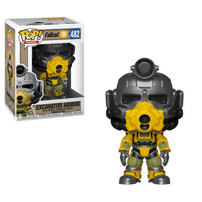 Fallout 76 Excavator Power Armor Pop! Vinyl Figure #482